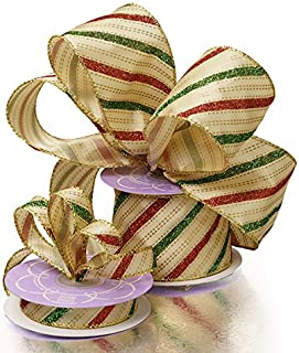Best red green gold ribbon Reviews
