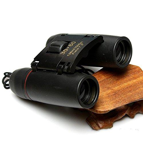 PEG Fernglas 30 x 60 mit Tag- und Nacht-Teleskop HD Infrarotlicht Nachtsicht Fernglas, Schwarz