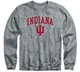 Ivysport Indiana University Hoosiers Crewneck Sweatshirt, Legacy, Charcoal Grey, Medium
