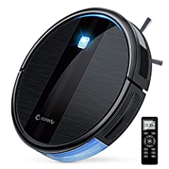1700 Pa Strong Suction Robot Vacuum for Pet Hair: With 1700Pa powerful suction, dual-edge brushes and main rolling brush, the 2.7in slim robot vacuum picks up almost all kinds of garbage like fine dust, pet hair, etc. Coredy Robot vacuum R3500 automa...