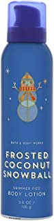 Bath and Body Works FROSTED COCONUT SNOWBALL Shimmer Fizz Body Lotion 3.5 Ounce (2018 Edition)