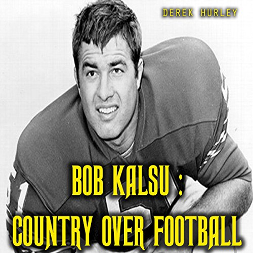 Bob Kalsu audiobook cover art