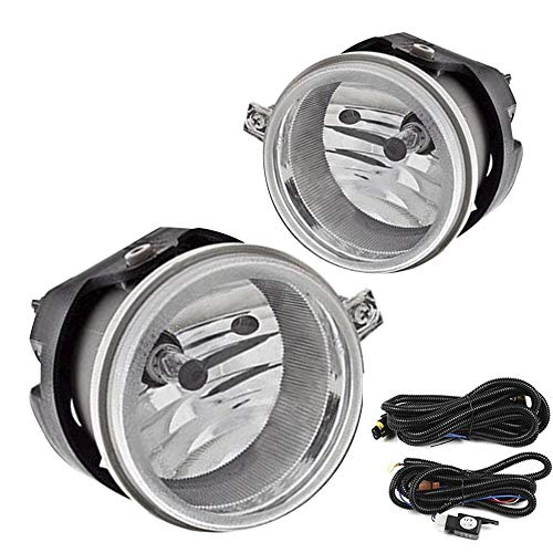 Driving Fog Lights Lamps Replacement for Dodge Caravan Charger...