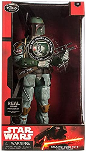 Offizielle Disney Star Wars 34cm roten Boba Fett Figur (English Version)