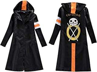 ONE PIECE one piece wind Trafalgar low wind coat jacket cosplay costume costume anime college line (size M)