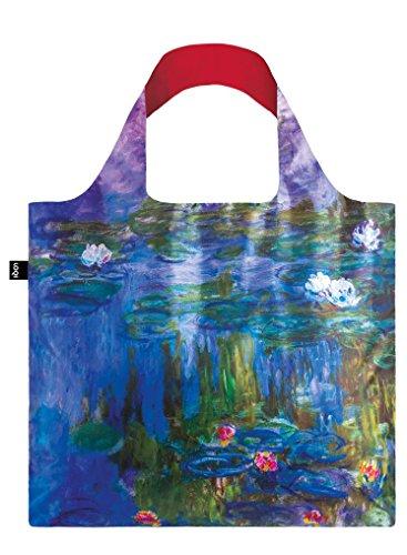 LOQI Museum Claude Monet Water Lilies, 1913 Bag - Bolsa de la Compra reutilisable - Bolsa de la Compra reutilisable