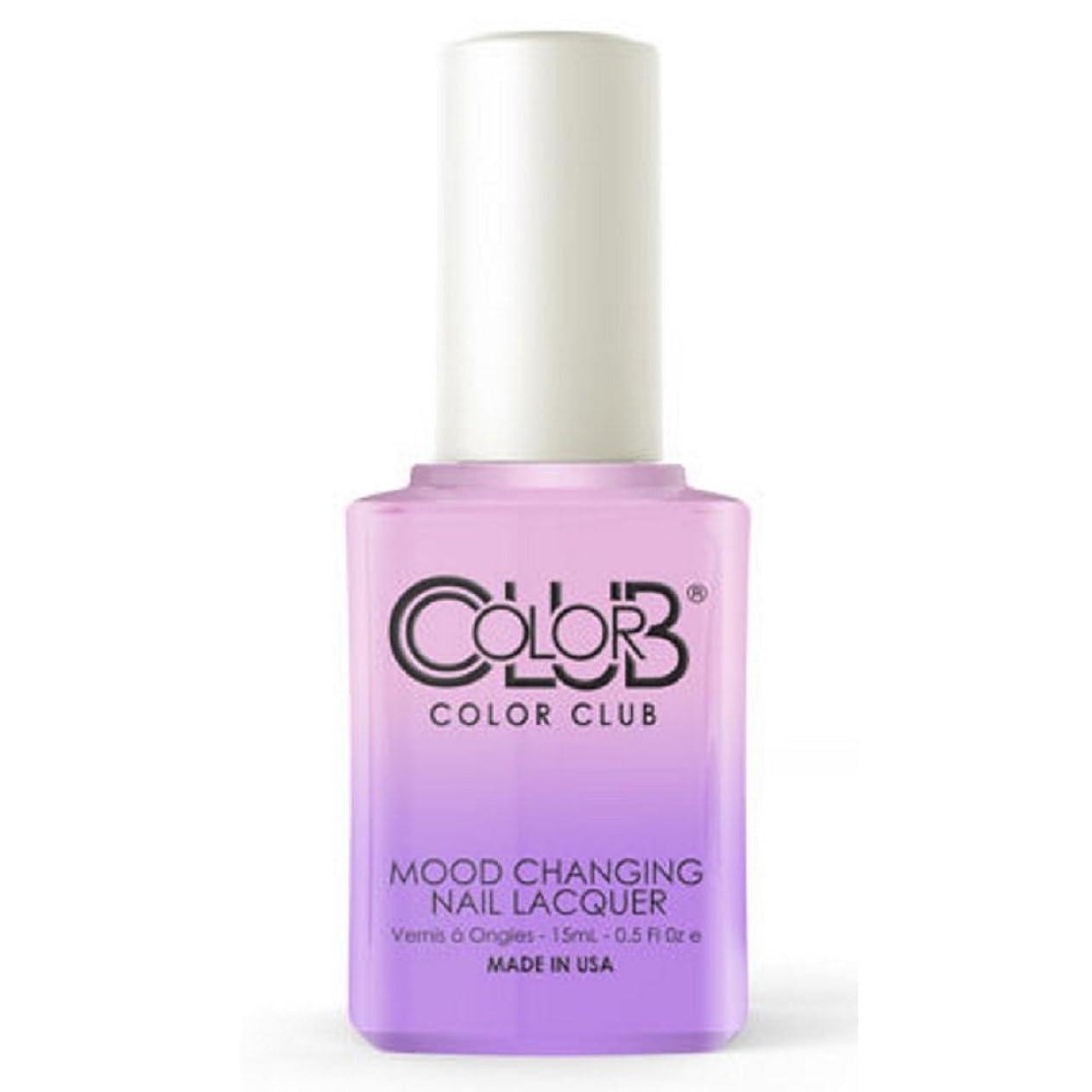 肥料有名な染色Color Club Mood Changing Nail Lacquer - Go with the Flow- 15 mL / 0.5 fl oz