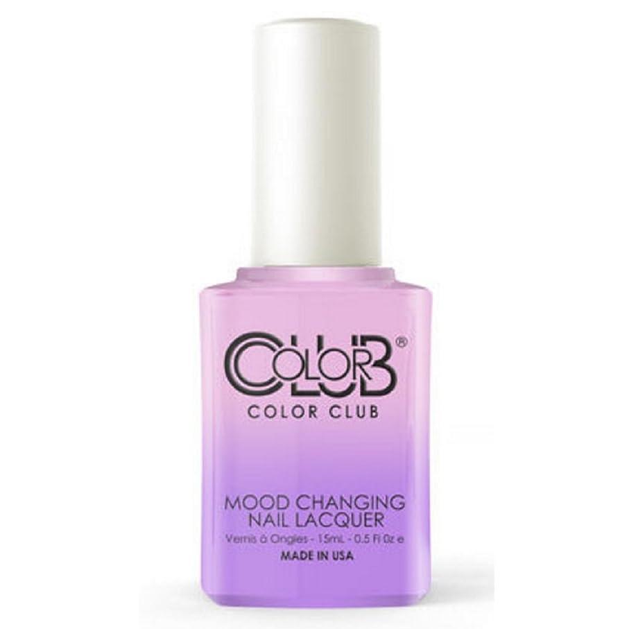 幻滅するリフレッシュ水星Color Club Mood Changing Nail Lacquer - Go with the Flow- 15 mL / 0.5 fl oz