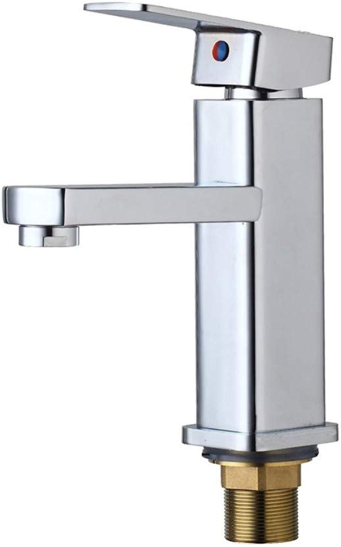 Single Body Brass Mounted Deck Sink Basin Finish Chrome