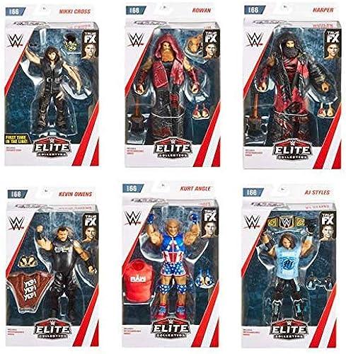 disfruta ahorrando 30-50% de descuento All 6 WWE Elite Elite Elite Figura Lucha Libre Mattel Serie 66  venta al por mayor barato