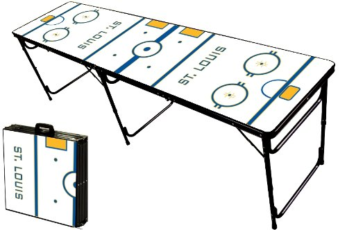 Best Buy! 8-Foot Professional Beer Pong Table - St. Louis Hockey Rink Graphic