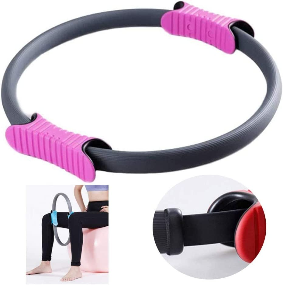 CTEGOOD Pilates Ring Circles with Popular brand Grip Resi Dual Fresno Mall Handles