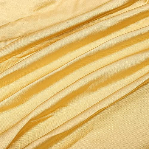 Snufeve6 Hamac Suspendu, hamac résistant à l usure avec Crochets pour Arbres Cours Camping, Tourisme(1 Meter, Golden)