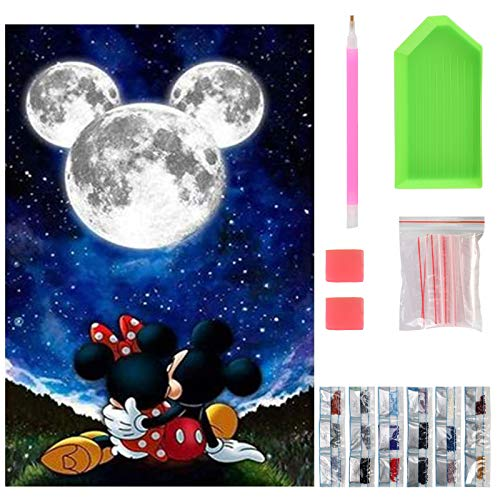 Cuadros Diamantes 5D Disney Mickey cuadros diamantes 5d  Marca NASHRIO