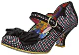 Irregular Choice Damen Summer Breeze Pumps, Schwarz (Black Check Red), 36 EU