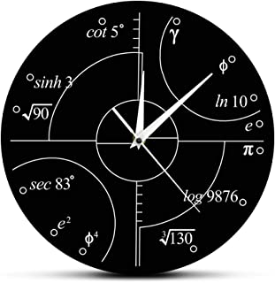 Best irrational numbers wall clock Reviews