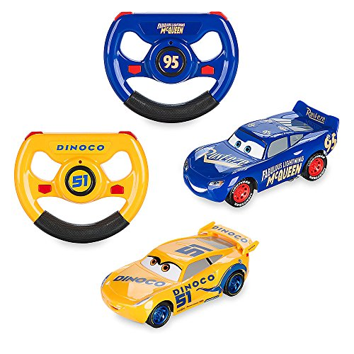 Disney Lightning McQueen & Cruz Ramirez RC Twin Pack - 6 Inch