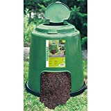 Compostiera da Giardino Rapida 280L Ø80xH80cm Rama Create Verde...