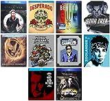 Ultimate SteelBook 10-Movie Collection: Star Trek (09)/The Italian Job/World War Z/Desperado/Gambler/Zoolander/Hunt for Red October & More [Blu Ray]