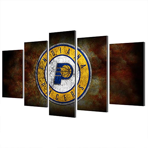 non-branded NBA Houston Rockets Indiana Pacers Golden State Warriors Los Angeles Clippers Leinwand Poster Basketball-Dekor (Art 32,Overall 40