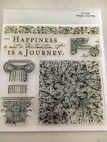 Close To My Heart D1428 Happy Journey My Acrylix Stamp Set CTMH