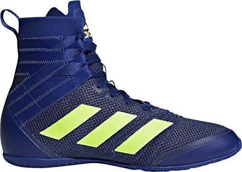 adidas Speedex 18 Boxing Shoes Mens Unisex Boxing Boots (8 UK, Blue)