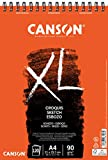 Canson XL Croquis Fino 90g Álbum Espiral Microperforado A4 120H