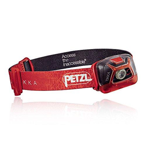 PETZL - TIKKA Headlamp, 200 Lumens, Standard Lighting, Black