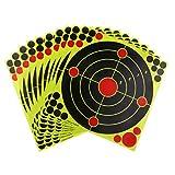 perfeclan 10pcs Selbstklebende Ziel Bogenschießen Zielscheibe Aufkleber für Outdoor oder Indoor
