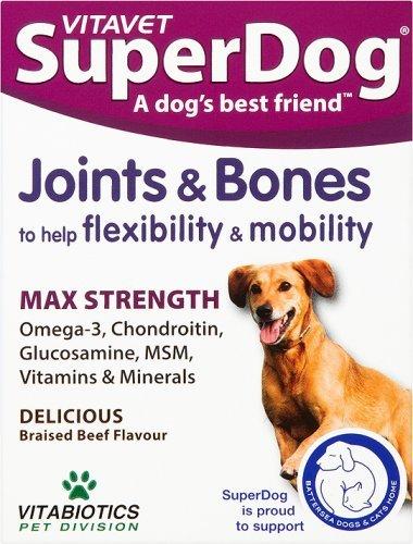 Vitabiotics SuperDog Joints and Bones - 30 Chewable Tablets