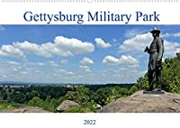 Gettysburg Military Park (Wandkalender 2022 DIN A2 quer): 12 ausgewaehlte Bilder vom Gettyburg Military Park fuer Interessierte am Amerikanischen Buergerkrieg (Monatskalender, 14 Seiten )