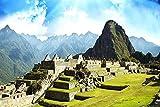 IDZHAOYUN Pintura Sin Marco por Números para Adultos Y Niños DIY Kits De Regalo De Pintura Al Óleo Perú Machu Picchu con Pinceles Decoración Decoraciones Regalos 40X50Cm