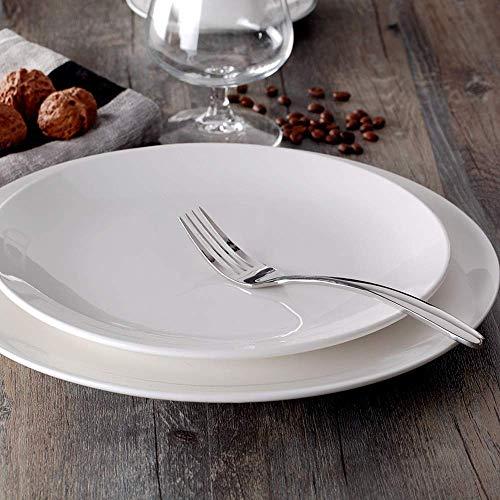 XZPENG Kreative Retro-Stil Persönlichkeit japanischer Stil 10-Zoll-Ofen Webmuster Keramikplatte besonderes Restaurant runde Teller Salatteller Haushaltsplatte (Size : OAAVGBG)