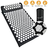 Tapis d'acupuncture Lotus, Kit d'Acupression Tapis,Yoga...