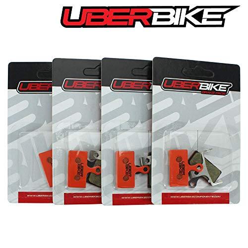 Uberbike Shimano XTR M9000 - M9020 Trail XT M8000 - SLX M7000 Kevlar - 4 Pares de Pastillas de Freno