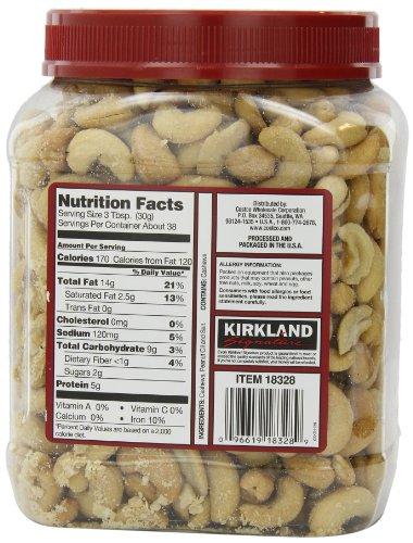 コストコ カークランドシグネチャー カシューナッツ 1.13kg