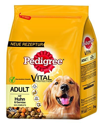 PEDIGREE Trocken Adult mit Huhn & Gemüse | 3kg Hundefutter