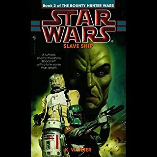 Star Wars: The Bounty Hunter, Book 2: Slave Ship audiobook cover art