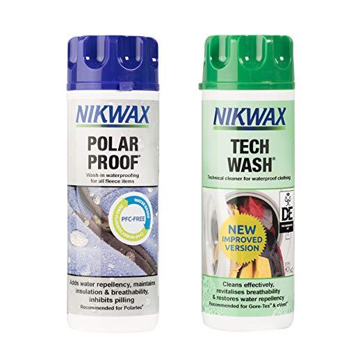 Effax Nkw0083 Nikwax Pflegeprodukt Tech Wash+Tx Direct, 2x300ml