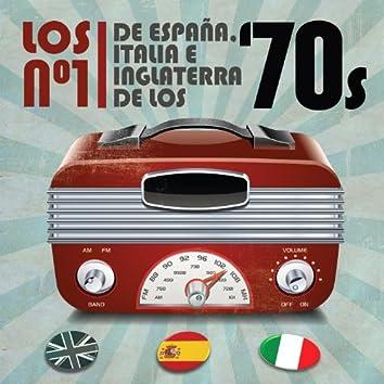 Los No. 1 de España, Italia e Inglaterra de los 70's