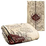Harry Potter Marauder's Map Officially Licensed Silky Touch Super Soft Throw Blanket 36' x 58'