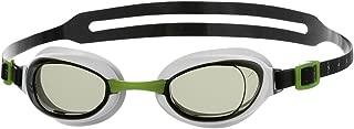 SPEEDO Aquapure Mirror Goggles, Green/Silver