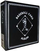 "BCW Supplies Baseball Black 3"" Album"