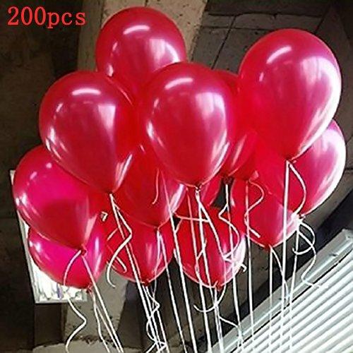 Seguryy Sachet De 100 Ballons Nacrés Perle Latex–10pouces Ballons Décoration pour Anniversaire Mariage Soirée Partie