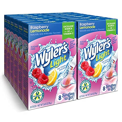Wyler's Light Singles To Go Quantity limited Powder Mix Drink 2021new shipping free Packets Ras Water