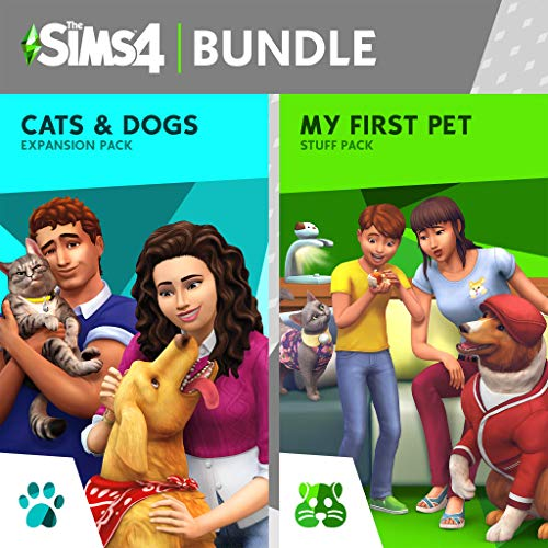 The Sims 4: Cats and Dogs Plus My First Pet Stuff Bundle - PS4 [Digital Code]