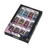 VIAIA 10G 12Bottles / Paquete Resina Relleno Flash Glitter para DIY UV Epoxi Resina Molde Colorido Brillando Pigmento Nail Art Decoration (Color : 02)
