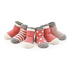 Calcetines Glamour Girlz para beb/é ni/ña rosa rosa 6-12 Meses
