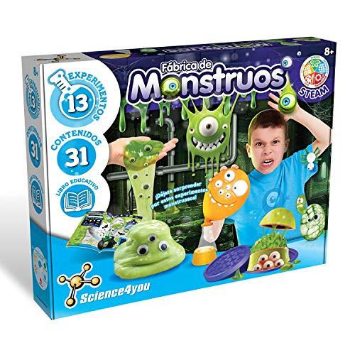 Science4you-Science4you – Fábrica de Monstruos – Juguete Científico y Educativo, Multicolor (80002454)