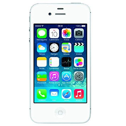 Apple Iphone 4S 8GB,Single, 3G, IOS, Câm 8MP, Tela 3.5'', Wi Fi Branco